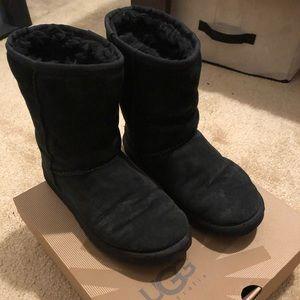 UGG Classic Short Black Boots!